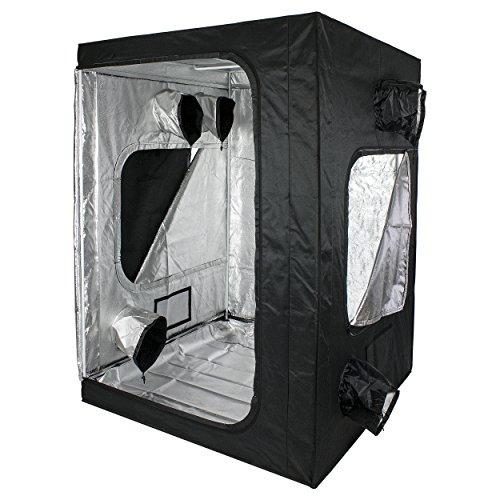 Cultivalley Growbox - Caja de almacenaje (98% de reflexión, Resistente a la luz y al Agua)