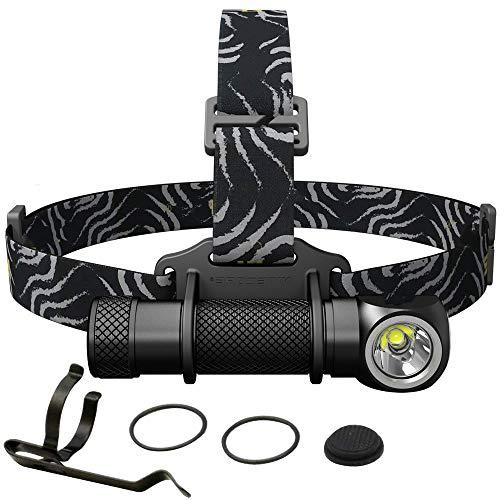 weichuang Fuente de luz linterna frontal 1800 lúmenes LED HD impermeable linterna al aire libre camping viaje caza