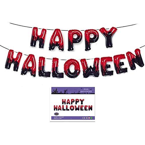 Halloween Decoration Set, Halloween Balloons Party Decor Halloween Decor Supplies Happy Halloween 14 PCS/Set2 16'