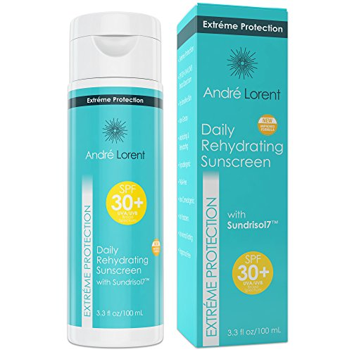 Daily Rehydrating Sunscreen: SPF 30+ - Contains Vitamins C & E, Green...