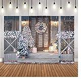 5 × 7 pies Navidad fotografía fondo árbol de Navidad chimenea foto estudio recién nacido retrato cumpleaños decoración foto fondo