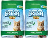 Naturally Fresh Walnut-Based Quick-Clumping Cat Litter, Unscented, 52 Pounds