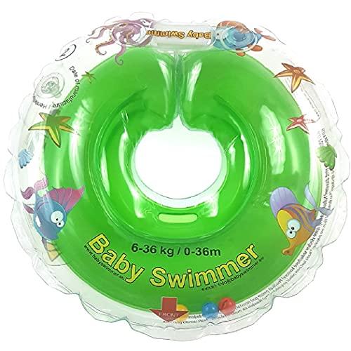 Baby Schwimmring, Mitwachsende Schwimmhilfe, Baby Float, Kinder Schwimmreifen ab 6 Monate bis 3 Jahre