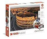 Clementoni- Roma Puzzle Realidad Virtual 1000 Piezas (39403)