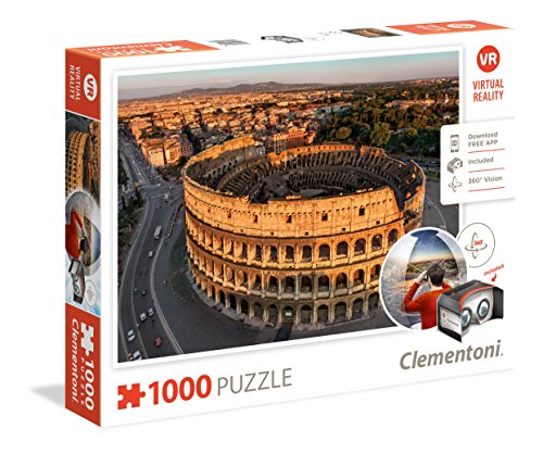 Roma Puzzle Realidad Virtual 1000 Piezas (39403)