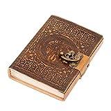 DreamKeeper - Diario de piel hecho a mano, ideal para guardar un diario o escribir tus pensamientos