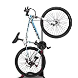 ZUKVYE Bike Stand Vertical Bike Rack, Indoor Bicycle Storage Mount(fit 20-27 Inch Bikes),Road Bike Storage - Space Saving and No Damage Wall,