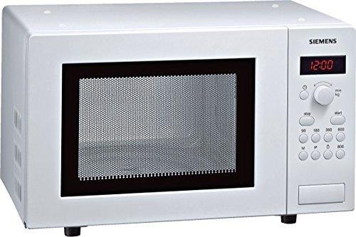 Siemens HF15M241 iQ300 Mikrowelle / 17 L / 800 W / Weiß / Gewichtsautomatik / Temperatureinstellung