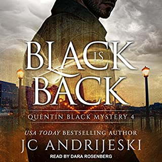 Black Is Back audiobook cover art