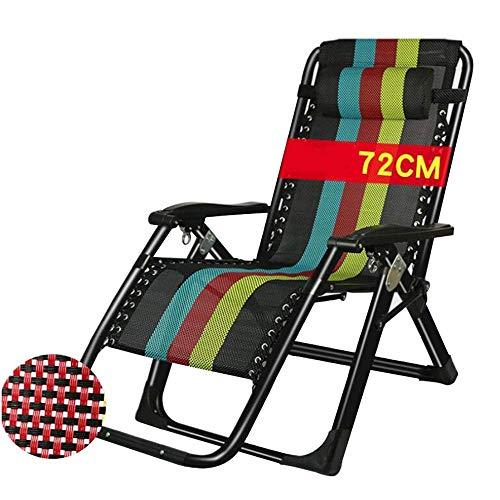 YLJYJ Silla de Camping, hamacas de ensanchamiento, sillas de balcón Plegables para...
