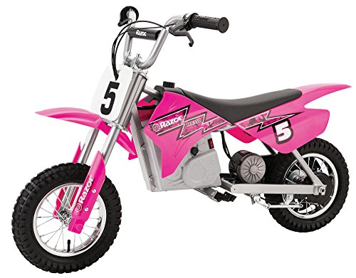 commercial razor girl bike Razor MX350 Dirt Rocket Electric Motocross Bike – Pink