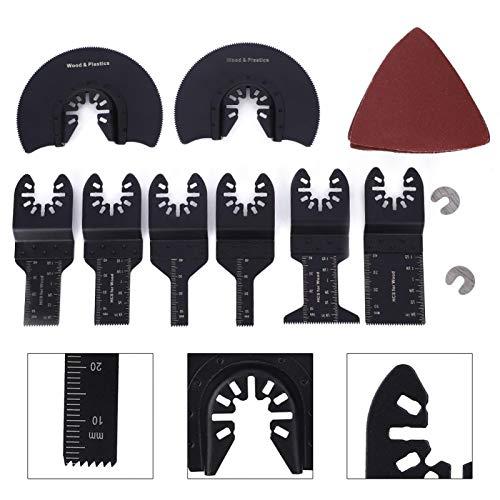Multiherramienta oscilante, práctica hoja oscilante, uso profesional para uso doméstico, taller, uso general