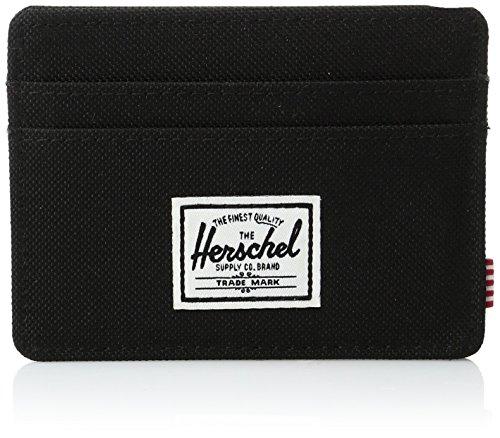 Herschel Supply Company Tarjetero 10045-00001-OS, 1 L, Negro