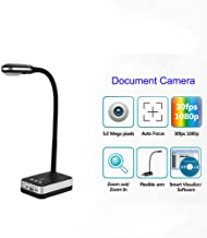 5MP A4 gooseneck Design HD COMS Flexible USB Document Camera Scanner visualizer autofocus OCR PDF