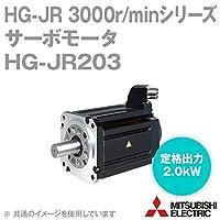 三菱電機 HG-JR203 サーボモータ HG-JR 3000r/minシリーズ 200Vクラス (低慣性・中容量) (定格出力容量 2.0kW) (慣性モーメント 4.92J) NN