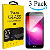 Vultic LG X Power 2/3 Screen Protector Tempered Glass [Case Friendly] Film Cover