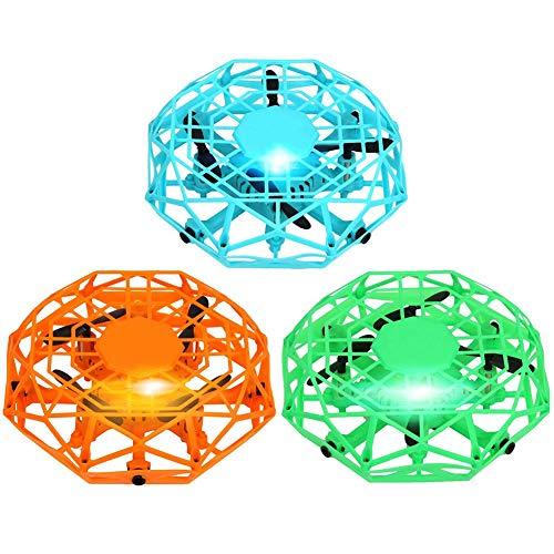 yummyfood UFO Flying Toys, Handgesteuerte Drohne Mini Quadcopter Für Jungen Mädchen Jugendliche Erwachsene, Automatische Erkennung, Wiederaufladbar