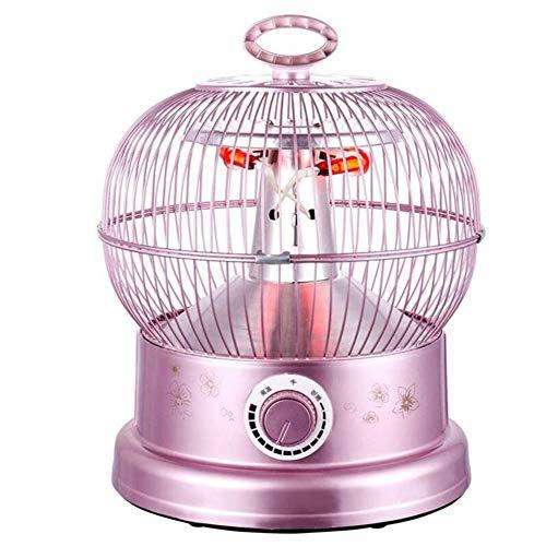 HKDJ-Style vogelkooi-radiator, elektrisch, met verwarmingsbuis van koolstofvezel en afdekking van gevlochten metaal, snel opwarmen, geschikt voor slaapkamer in de woonkamer