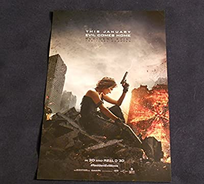Resident Evil The Final Chapter 11x17 Inch Promo Movie Poster Poster