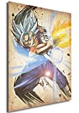 Instabuy Poster Dragon Ball Wanted Vegetto SSB - A3 (42x30