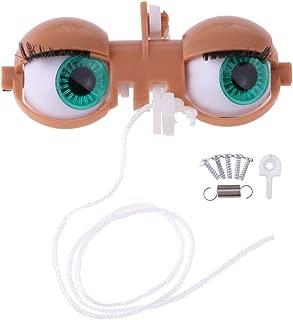 Doll Eyeball Eyes Mechanism Whole Set for 12inch Takara RBL Neo Blythe Custom DIY Accessories Ligth Tanned Skin Color