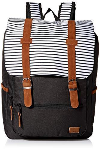 Roxy Women's Ocean Vibes Backpack, anthracite marina stripes, 1SZ