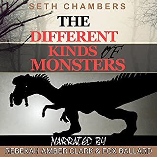 The Different Kinds of Monsters audiobook cover art