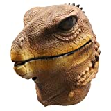Lizard Mask Adult Latex Reptiles Animal Head Lizard Ghecko Halloween Carnival Mask Fancy Dress Props
