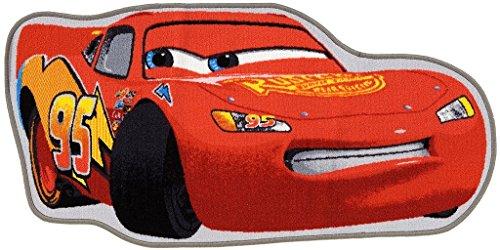 Kindertapijt Disney Cars McQueen 95 rood 134x67cm