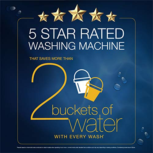 Whirlpool 6.5 kg 5 Star Fully-Automatic Top Loading Washing Machine with In-Built Heater (White magic Elite Plus, Grey) 6