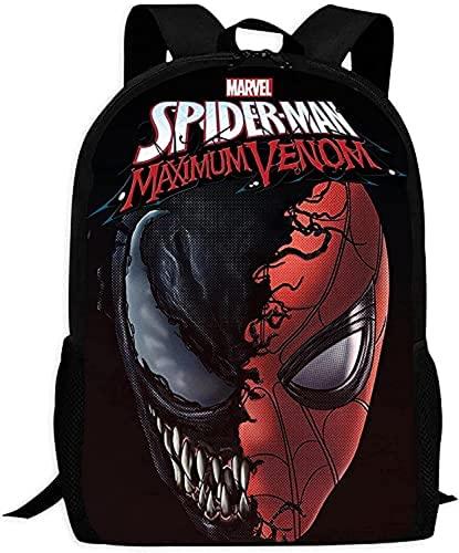 """Sac à dos Spiderman pour enfant - Imperméable - Grande capacité - Sac à dos pour ordinateur portable - Cadeau (A1,13"""" 24)"""