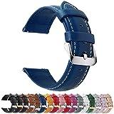 Fullmosa 12 Colori per Cinturini di Ricambio, Axus Pelle Cinturino/Cinturini/Braccialetto/Band/Strap...