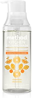 Method Kitchen Gel Hand Soap, Clementine, 12 Ounce (6 Count)