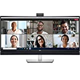 Dell C3422WE 34.1' WQHD Curved Screen Edge WLED LCD Monitor - 21:9 - Platinum Silver - 34' Class - in-Plane Switching (IPS) Technology - 3440 x 1440-1.07 Billion Colors - 300 Nit - 5 ms GT
