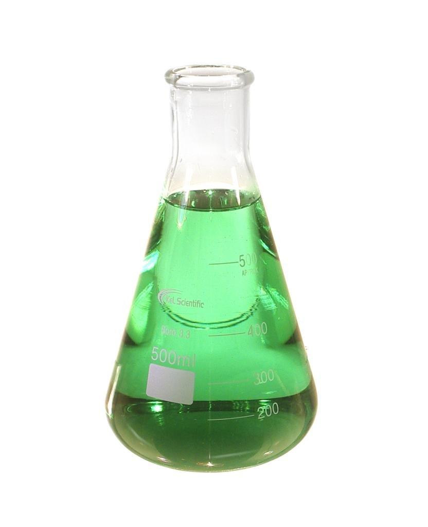 500 ml Erlenmeyer Dedication Glass Scientific KeL KS-604 Flask Quality inspection