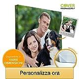 Coverpersonalizzate.it - Quadro con Foto Personalizzata, Stampa su Tela Spessore 2cm - Tan...