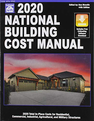 Compare Textbook Prices for National Building Cost Manual 2020 44th ed. Edition ISBN 9781572183537 by Ben Moselle,Ben Moselle
