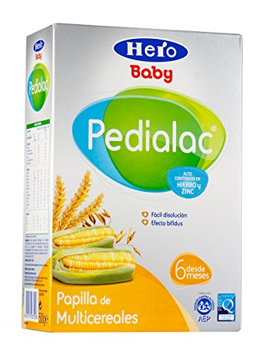 Hero Baby Pedialac Papilla Multicereales 300 g