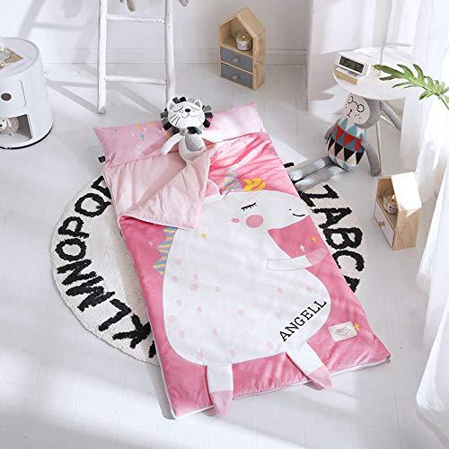 Baby Kind Schlafsack Kind Anti-Kick-Quilt Herbst und Winter verdickt Baby 0-7 Jahre alt-H_150 * 75CM baby schlafsack winter
