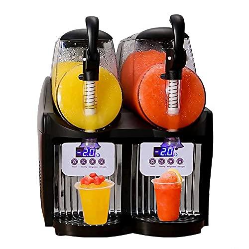 yunyun Máquina Dispensadora De Zumos Y Bebidas Frías Comerciales,2 Latas Dispensadores De Bebidas Profesionales,2.5L por Lata, con Pantalla LCD, Equipadas con Termostato