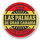HONGXIN Las Palmas Gran Canaria Travel Tag Spanien Retro