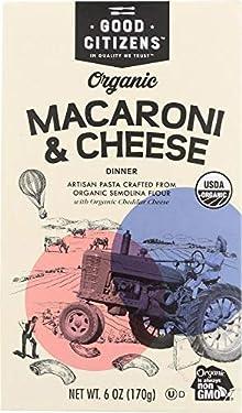 Good Citizens, Macaroni Cheese Organic, 6 Ounce