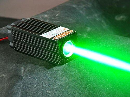 Fat Strahl 60mW 532nm grünes Laser-Punkt-Dioden-Modul W/TTL