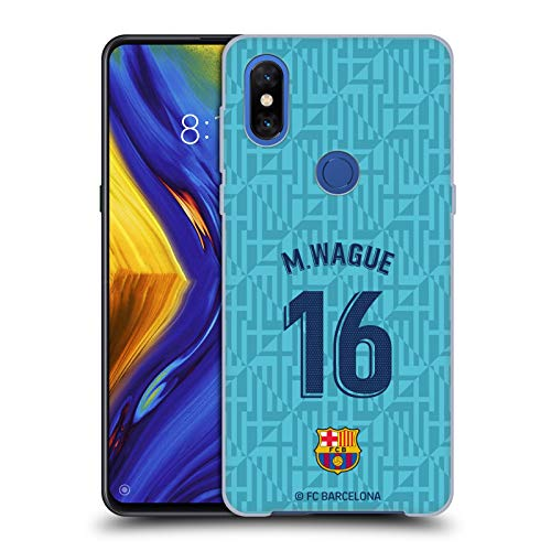 Head Case Designs Oficial FC Barcelona Moussa Wague 2019/20 Jugadores Tercer Kit Grupo 2 Carcasa rígida Compatible con Xiaomi Mi Mix 3