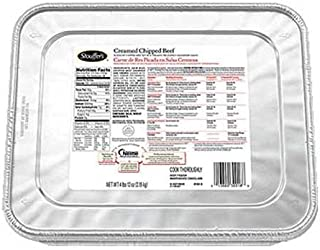 Nestle Stouffers Creamed Chipped Beef, 76 Ounce -- 4 per case.