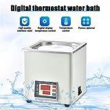 S SMAUTOP Digitales Thermostat-Wasserbad Laborwasserbad, elektrische Digitalanzeige...