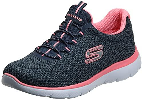 Skechers Summits-Striding, Zapatillas Mujer, Azul, 41 EU