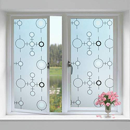 folie fenster sichtschutz, fensterfolie selbsthaftend blickdicht 90x200, Fensterfolie Spiegel, Folie Fenster Verdunkelungsfolie, Wärmeisolierung UV-Schutz,90x200cn/35.43x79.74in