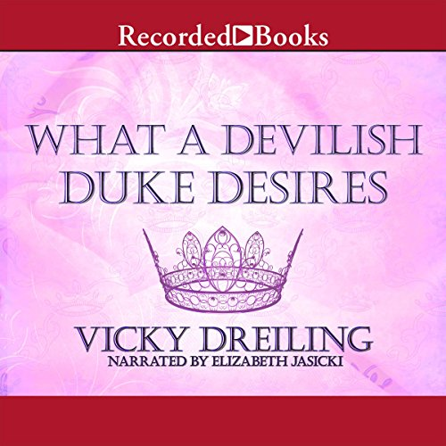 What a Devilish Duke Desires cover art