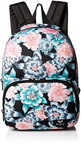 Roxy Women's Always Core Mini Backpack, anthracite sample crystal flower, 1SZ